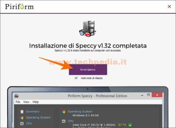 Conoscere Specifiche Computer Windows Con Speccy 028