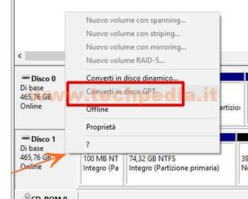Convertire Formato Disco Mbr Gpt Windows 055