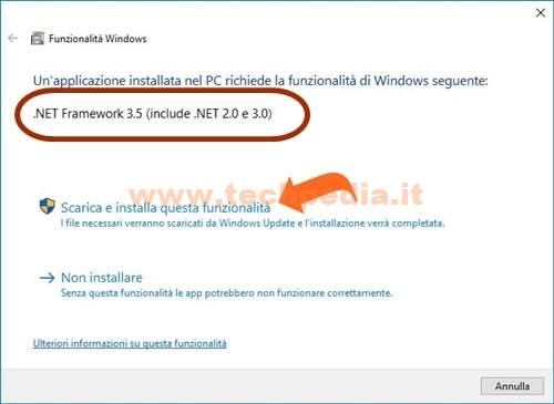 Installare Net Framework Windows 013