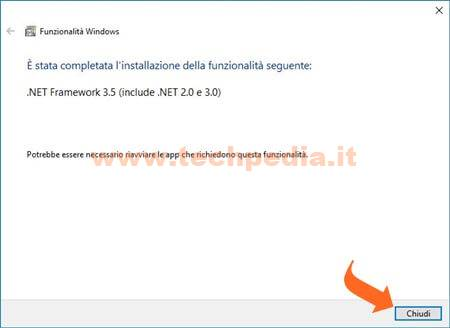 Installare Net Framework Windows 016