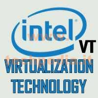 Intel Vt Virtualization Technology LOGO