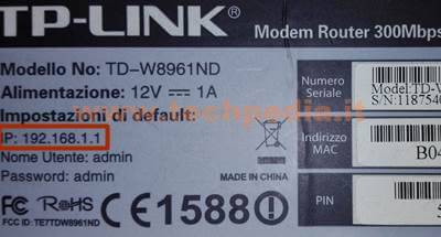 Modificare Password Wifi Router 004