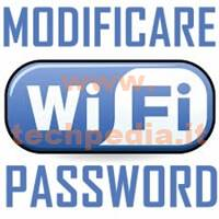 Modificare Password Wifi Router LOGO