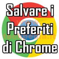 Salvare Preferiti Google Chrome LOGO