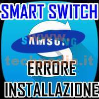 Smart Switch Errore Installazione Windows LOGO