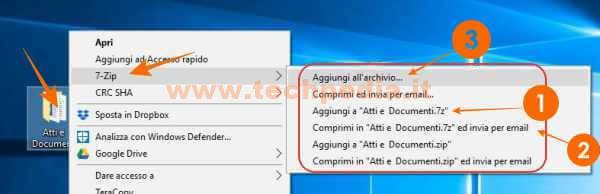 Zip E Unzip Con 7zip Windows 025