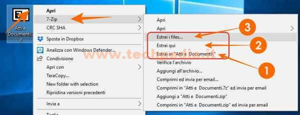 Zip E Unzip Con 7zip Windows 055