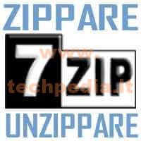 Zip E Unzip Con 7zip Windows LOGO