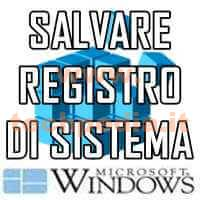 Backup Registro Di Sistema Logo