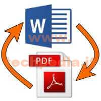 Convertire Word In Pdf Logo
