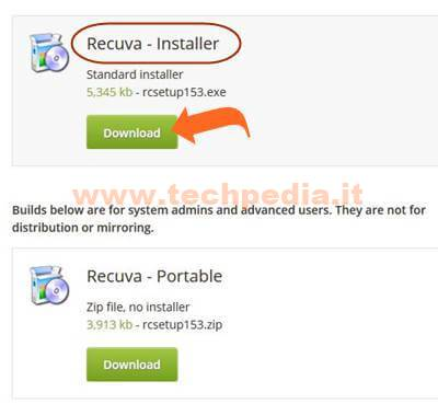 Recuperare File Cancellati Con Recuva Windows I 001