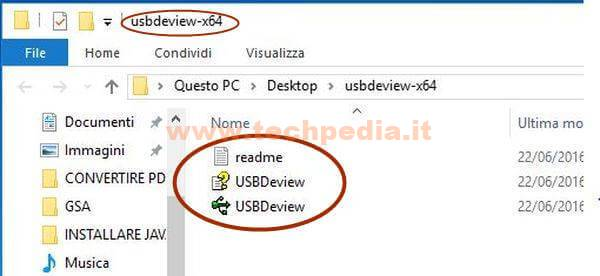 Riparare Catalogo Usb Con Usbdeview Windows 004